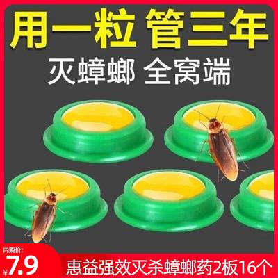 蟑螂药家用一窝端卧室厨房蟑螂克星灭虫神器